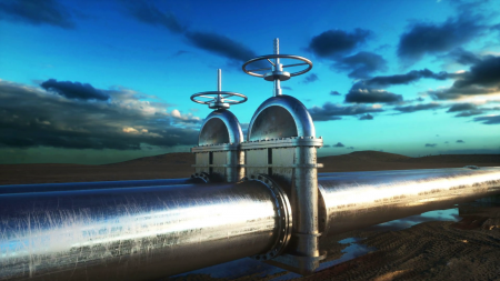 videoblocks-pipeline-transportation-oil-natural-gas-or-water-in-metal-pi...